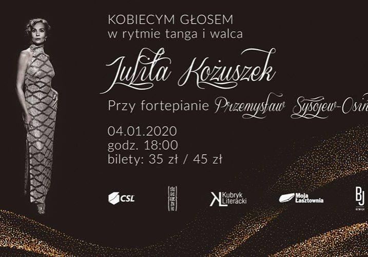 Łasztownia - Julita Kożuszek, tango i walc_styczeń 2020