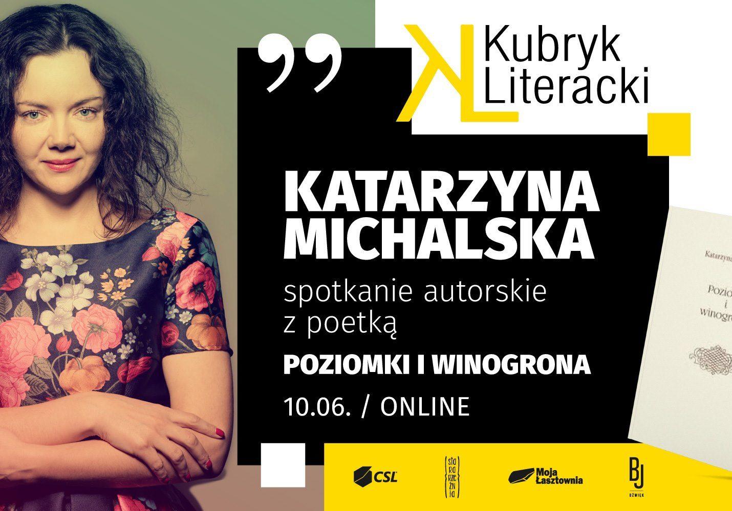 Łasztownia - Spotkanie z Katarzyną Michalską
