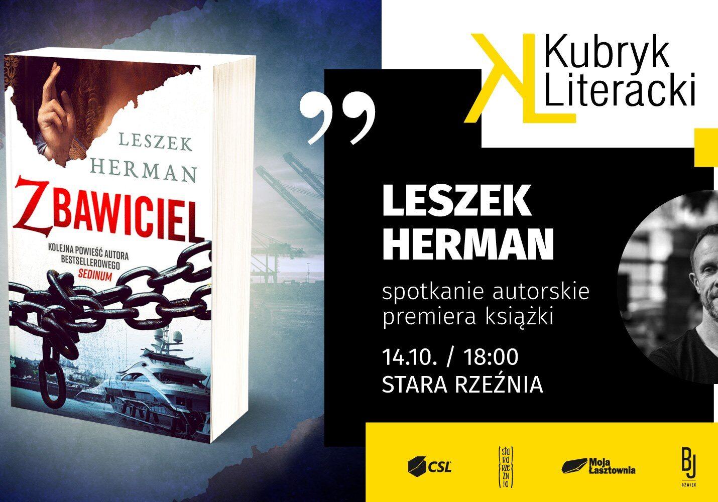 Łasztownia - Premiera Książki Leszka Hermana